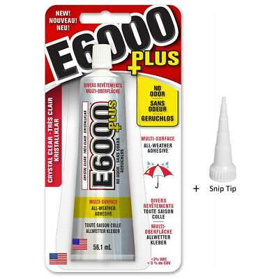 E6000 Glue & Nozzle Glass Jewellery Gems, Beads, PLUS Craft Snip Tip Adhesive  • 9.99£