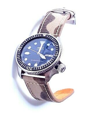 $ CDN369.80 • Buy Seiko Skx007 Diver Mens Watch  Super Mod Made By Inspiration Vintage Omega300