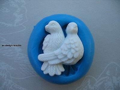 £4.20 • Buy Doves/Love Birds Wedding/Valentine Silicone Mould Sugarcraft, Cup & Cake Toppers