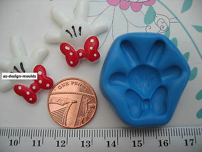 Minnie Mouse Hand With Bow Silicone Mould/Mold Sugarcraft Cupcake & Cake Toppers • 4.20£