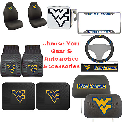 $ CDN16.92 • Buy NCAA  West Virginia University Pick Your Gear Auto Accessories Official Licensed