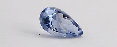 SA7031 Ceylon Blue Sapphire 0.6 Ct Natural Unheated Pear Shape 7 X 4.5 Mm • 99$