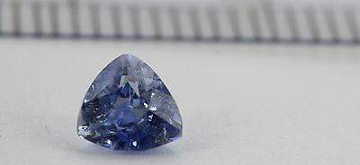 SA7030 Ceylon Blue Sapphire 0.55 Ct Natural Unheated Trillion Shape 5 Mm • 95$