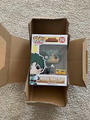 $25.99 • Buy Funko Pop Deku Battle #252 My Hero Academia Brand New