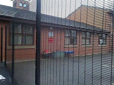2.4m HIGH ANTI-CLIMB,SECURITY FENCING, MESH FENCING, WIRE MESH,TEL: 01257 422964 • 57.95£