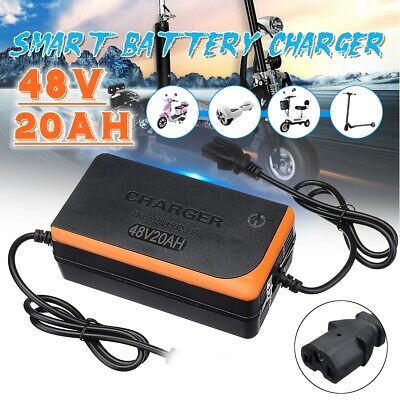 54.6V 4A Power Battery Charger 48V UK Plug for E-bike Electric Bicycle
