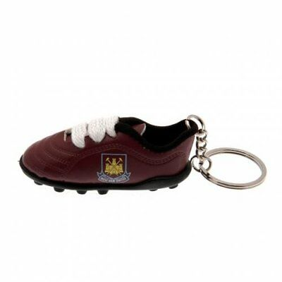 West Ham United Fc Official Football Gift Boot Keyring • 3.49£