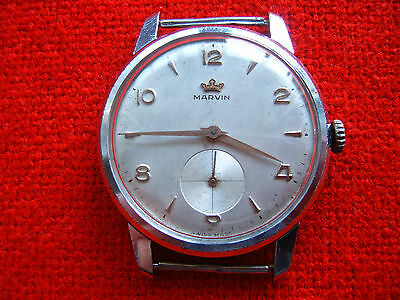 £106.16 • Buy  Vintage Old Swiss Made Wrist-Watch  MARVIN