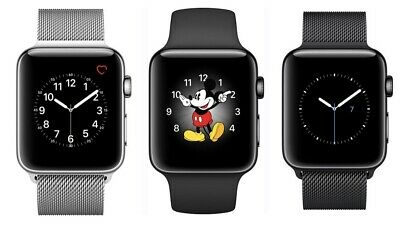 $ CDN198.78 • Buy Apple Watch Series 2 Stainless Steel / Space Black - 42MM | Excellent A-Grade
