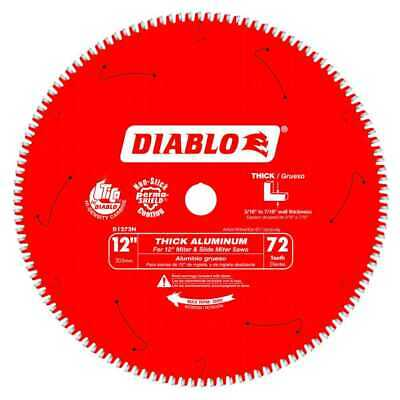 Diablo D1272N Thick Aluminum Cutting Saw Blade 12  X 72 Tooth 3x New • 169.95$