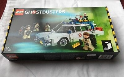 Lego Ideas Ghostbusters Ecto-1 Set 21108 From 2014 ** Brand New ** • 199.99£