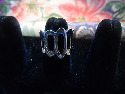 $ CDN13.62 • Buy Lia Sophia Silver With Cut Crystals  Kindred  Ring Size 7 NEW