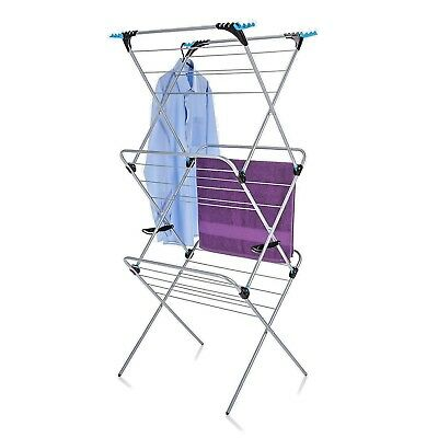 Minky 3 Tier Plus Indoor Airer Retractable 21m Drying Space Utility Laundry Room • 68.99£