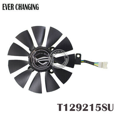 $ CDN16.79 • Buy 87MM T129215SU Cooling Fan For ASUS GTX980Ti R9 390X 390 GTX1070 4Pin 4 Wire
