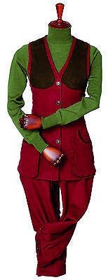Ladies Laksen Broadlands Moleskin Shooting Waistcoat/Vest-all Sizes/colour -new  • 155£