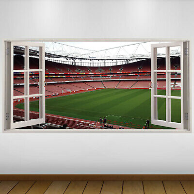 £24.99 • Buy EXTRA LARGE Arsenal Pitch Football Vinyl Wall Sticker Poster