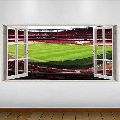 £24.99 • Buy EXTRA LARGE Arsenal Empty Pitch Football Vinyl Wall Sticker Poster