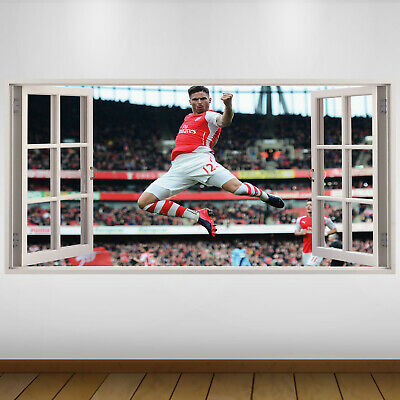 £24.99 • Buy EXTRA LARGE Arsenal Player Goal Football Vinyl Wall Sticker Poster