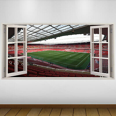 £24.99 • Buy EXTRA LARGE Arsenal Pitch Stands Football Vinyl Wall Sticker Poster