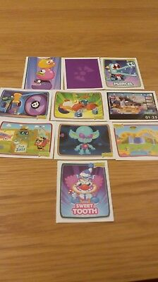 £0.99 • Buy Moshi Monsters Topps  Stickers