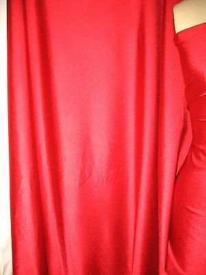 £9.20 • Buy Red Thick Shiny Spandex 4 Way Stretch 60  Wide X 67  Long Panel