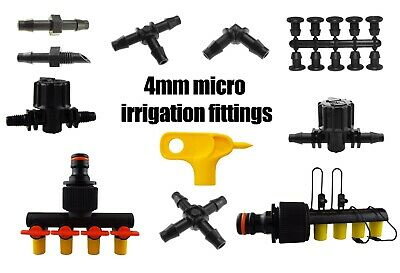 Complete Range Of Garden Micro Irrigation Connectors,pipe & Accessories  • 4.99£