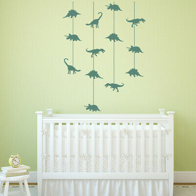 Dinosaur Cot Mobile Nursery Wall Sticker WS-44153 • 16.99£