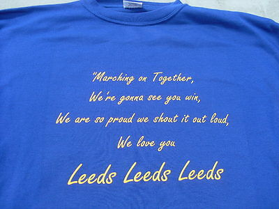 Leeds Rhino's Rugby L Song Including 4xl 5xl T-Shirts Personalised Birthday Gift • 13.95£