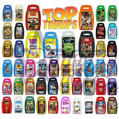Top Trumps Card Games Play & Discover Exclusives Dragons Walliams Roald Dahl  • 4.74£