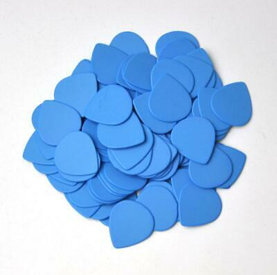 $ CDN16.59 • Buy 100pcs Heavy 1mm Teardrop Water Drop Delrin Jazz Guitar Picks Plectrums Blue