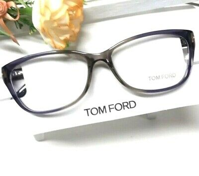 d51aa4094076c Tom Ford Optical Frames Square Soft Cateye Thin Clear Purple Grey Tf5142  059 • 79.00
