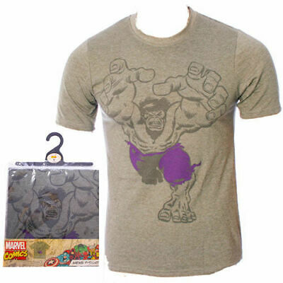 Bnwt Mens / Boys Official Marvel Comics Incredible Hulk T Shirt Small  • 7£