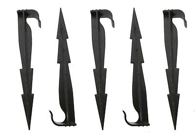 Hold Flat Barbed Ground Stakes For Porous Pipe/irrigation Tubing • 4.99£
