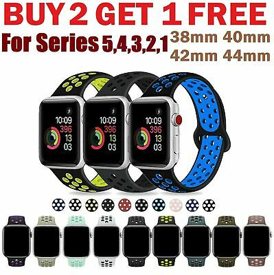 $ CDN9.38 • Buy Replacement Silicone Sports Band Nike+ Apple Watch Series 5 4 3 2 1 38/40/42/44