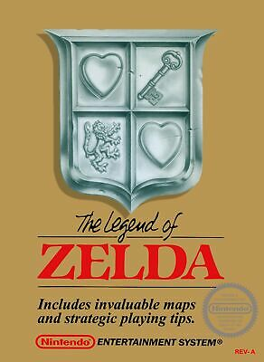 $19.99 • Buy Retro Zelda Game Poster//NES Game Poster//Video Game Poster//Vintage Game Reprin