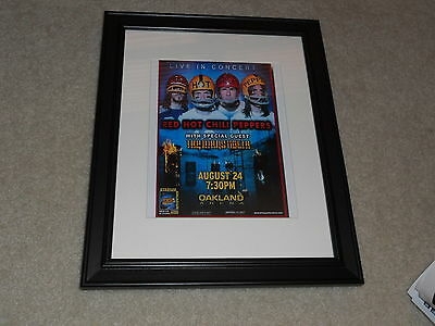 $35.99 • Buy Framed Red Hot Chili Peppers 2006 Concert Oakland, CA Mini-Poster 14 X17