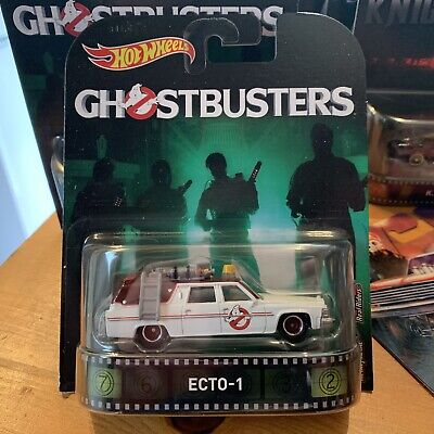 Hot Wheels Real Riders Retro Entertainment Ghostbusters Ecto-1 • 15£