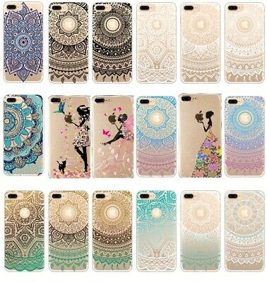 AU6.99 • Buy Mandala Soft Print Case Clear Luxury Shockproof Thin Cover For IPhone  XR XS MAX