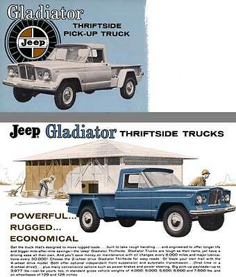 $5.95 • Buy Jeep 1965 - Gladiator Thriftside Pick-up Truck