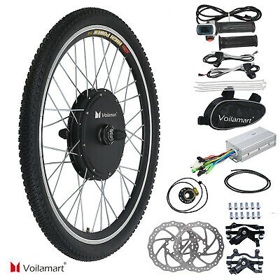 $173.99 • Buy 48V 1000W Front Wheel Electric Bicycle Motor Cycling Conversion Kit E Bike Hub