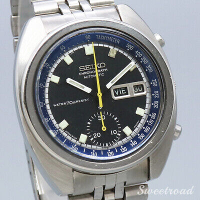 $ CDN1765.83 • Buy Seiko Single Chronograph 6139-6012 Vintage Day Date Automatic Mens Watch Works