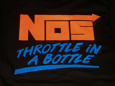 £18 • Buy NOS Nitrous Oxide System Mens T Shirt      Throttle In A Bottle       Get Fogged