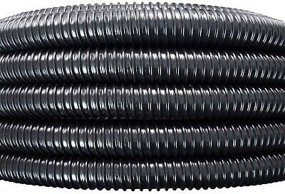 50mm (2 ) Flexible Smooth Bore Suction Pipe/ducting For Air,sawdust,dust,water • 10.56£