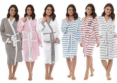 AU31.59 • Buy Ladies Undercover Summer Lightweight Dressing Gown Cotton Jersey Or Waffle Robe