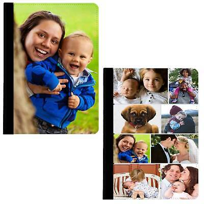 Personalised Case Custom Photo Collage 360 Rotate Swivel Cover For Apple IPad • 18.50£