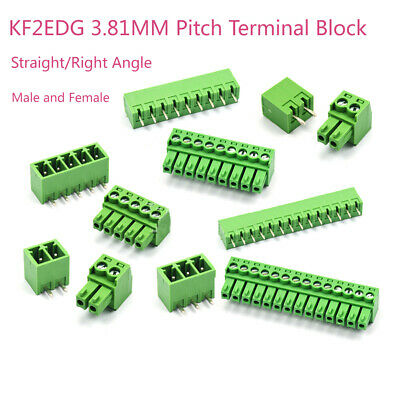 $1.79 • Buy KF2EDG Terminal Block Male & Female 3.81mm Pitch PCB Screw Connector 2/3/4/5~16P