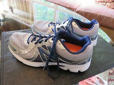 a001f90bdc502 New Balance 450v3 Silver/Blue Running Shoes. Mens 10.5 4E WIDE Lightly Used  •