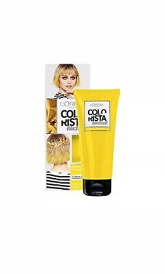 L'Oreal Colorista Washout Yellow Neon Semi-Permanent Hair Dye NEW • 6.49£