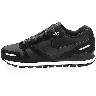 Shoes Nike Air Waffle Trainer Leather - 454395 Black • 66.03£