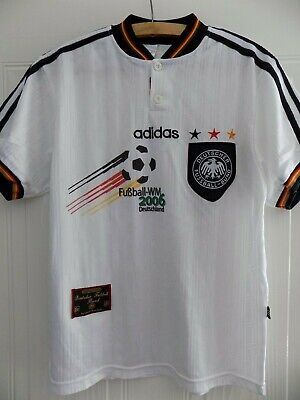 Germany Football Shirt Trikot 1996 EURO Adidas Retro Mens Soccer Jersey Adults • 44.99£